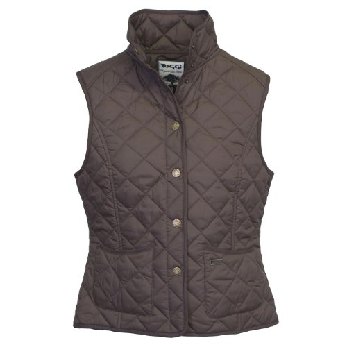 Toggi Women's Esher Quilted Gilet - Chocolate,