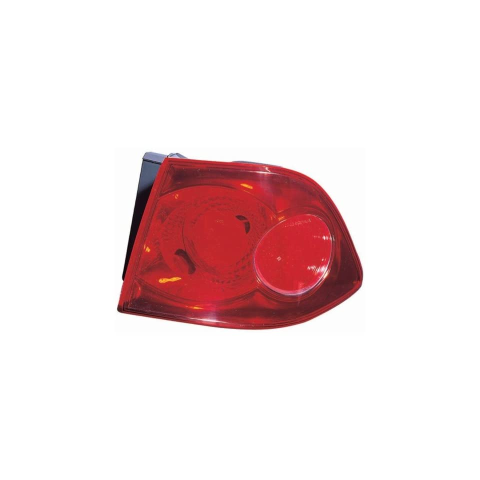 Kia Optima Replacement Tail Light Assembly Outer   Passenger Side
