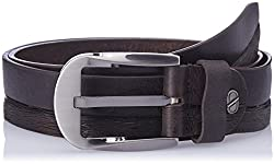 Dandy AW 14 Coffee Leather Men's Belt (MBLB-299-S)