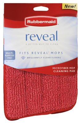 Rubbermaid Inc 1M19-00-RED Reveal Wet Microfiber Cleaning Pad