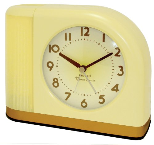 Westclox 1950 Big Ben Moonbeam Yellow Alarm Clock