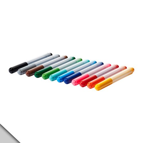 IKEA - MÃ…LA Felt-tip pen, assorted colors (FBA)