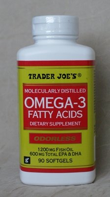 Trader Joe's Omega-3 Fatty Acids 1200mg Fish Oil, 90softgels, Odorless | Online Vitamin Shops
