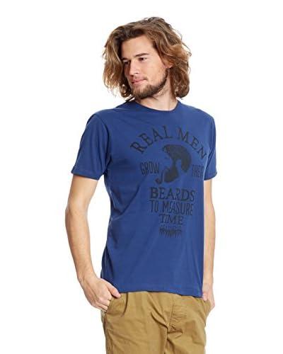 Springfield Camiseta Manga Corta Azul