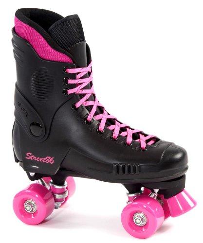 SFR Street 86 Roller Skates - Pink Wheels - Size UK3