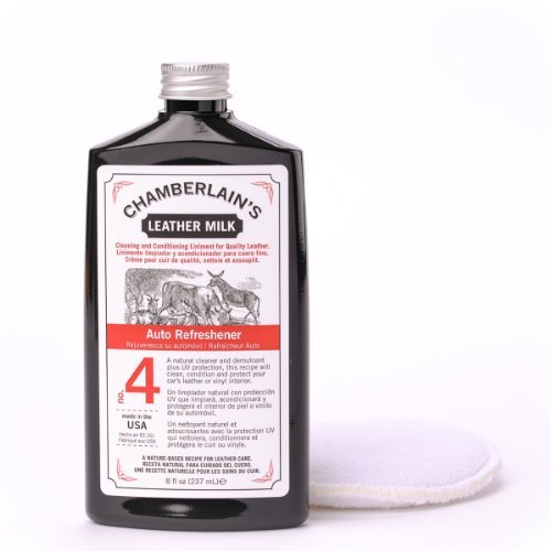leather milk auto leather conditioner and cleaner with uv protection auto refreshener no 4. Black Bedroom Furniture Sets. Home Design Ideas