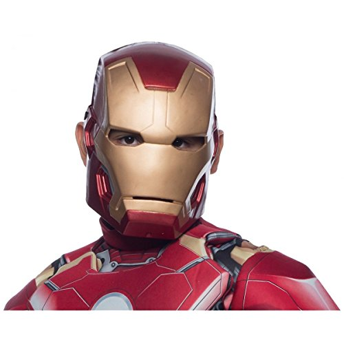 Iron Man Mask for Kids Superhero Costume Halloween Fancy Dress Up (Best Ironman Costume)