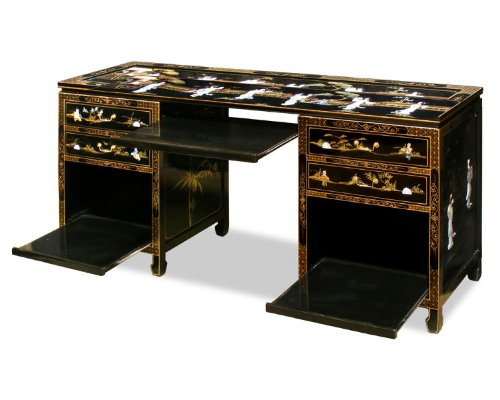 Buy low price comfortable asian style computer desk for Asian inspired desk