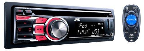 Jvc Kdr520 Usb-Cd Receiver With Dual Aux 50 Watts X 4