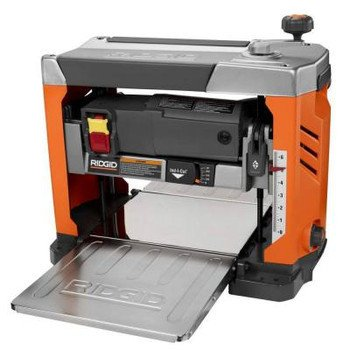 Factory-Reconditioned Ridgid ZRR4331 15 Amp 13-in Bench Planer with 3-Blade Cutterhead