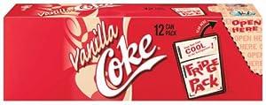 Coca-Cola Vanilla Coke, 12-12 fl. oz Cans