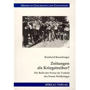 eBook Cover für  Zeitungen als Kriegstreiber Die Rolle der Presse im Vorfeld des Ersten Weltkrieges
