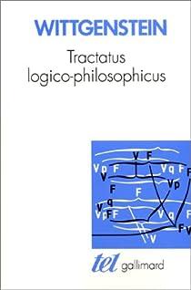 Tractatus logico-philosophicus par Wittgenstein