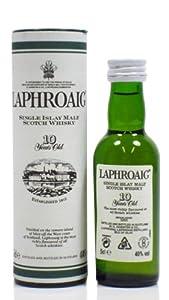 Laphroaig 10 year old Single Malt Scotch Whisky 5cl Miniature