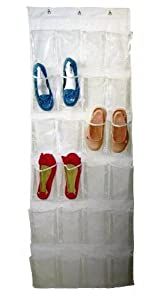 Imperial Over the Door 24 Pocket Hanging Shoe Organizer