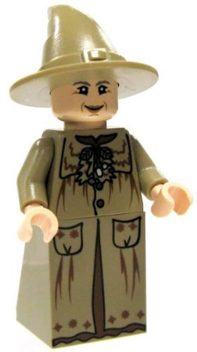 Click To LEGO Professor Sprout w/ wand - Harry Potter Minifigure Details