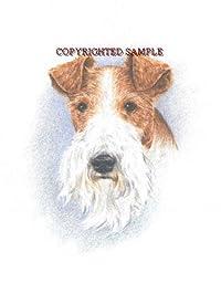 Fox Terrier - Portrait by Cindy Farmer