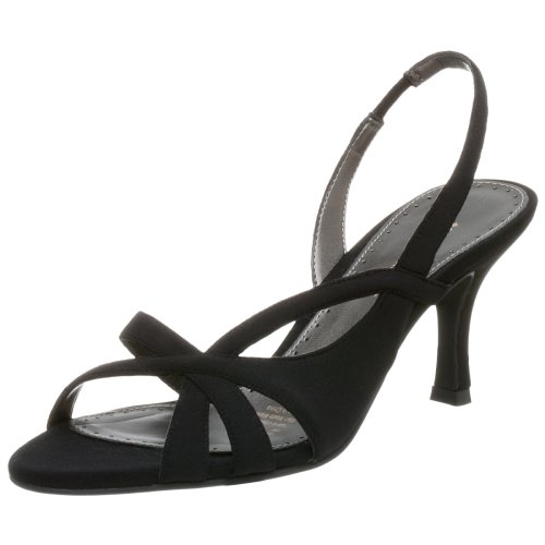 Naturalizer Women's Prissy Sandal,Black Fabric,6.5 M