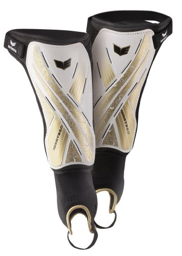 Erima Resista 2.0 [SHIN GUARD] white/gold/black - XS