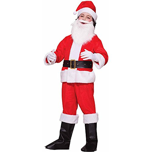 Santa Claus Deluxe Kids Costume - Medium