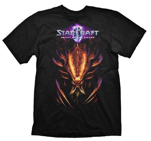 Starcraft 2 T-Shirt Heart Of The Swarm Hydralisk, Größe M [Edizione: Germania]