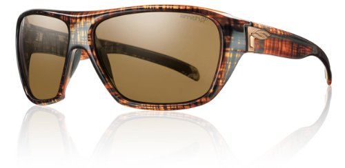33a8db3f63 Feature of Smith Optics Chief Sunglasses Brown Linen Frame with Polarized  Brown Lens