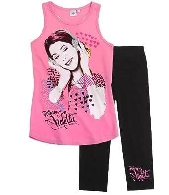 Disney Violetta T-Shirt avec caleçon noir (14 ans)