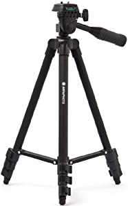 AGFA APTP50 Deluxe 50-Inch Photo/Video Tripod for Cameras and Camcorders