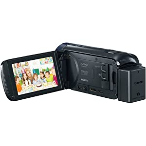 Canon VIXIA HF R60 Full HD Camcorder Bundle, includes: 64GB SDXC Memory Card, Card Reader, 2-Hour Spare Battery, Pocket Tripod, CA-110 Compact Power Adapter, Small Camcorder Bag, Lens Cleaning Kit, Memory Card Wallet