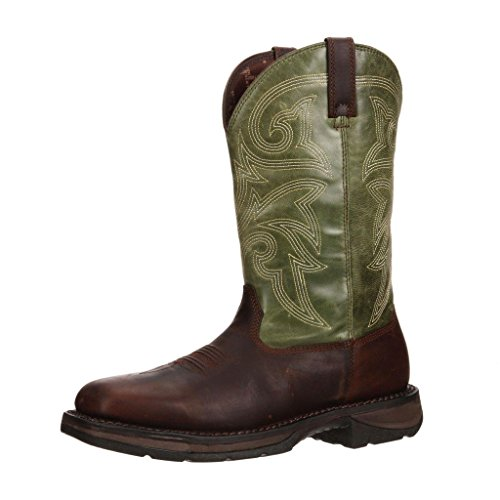 Durango Men's Workin' Rebel WR Green Casual Boot 13 W