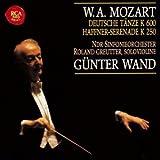 モーツァルト:ハフナー・セレナード&ドイツ舞曲