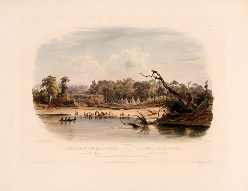 Punka Indians Camped On The Banks Of The Missouri front-1056638