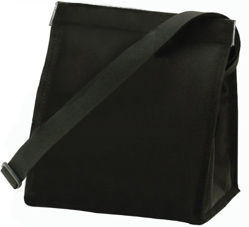 U Konserve UK027 Insulated Lunch Sack, Small, Black - 1