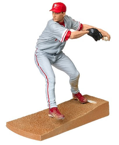 McFarlane Toys MLB Sports Picks Series 11 Action Figure Billy Wagner (Philadelphia Phillies) Gray Jersey - 1