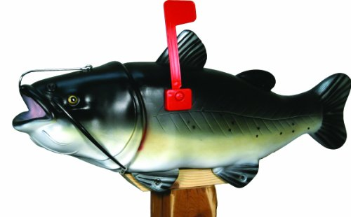 River's Edge Catfish Mailbox with Tamper Proof Mounting Hardware (Tamper Proof Box compare prices)