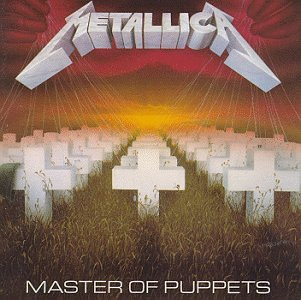 Original album cover of Master of Puppets by Metallica