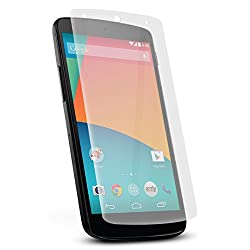 Google Nexus 5  Tempered Glass Screen Protector with OTG Cable (TEMPERED GLASS + OTG CABLE) COMBO by DRaX®