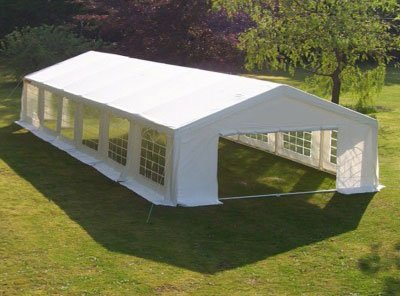 Heavy Duty 6m x 12m Waterproof Wedding Tent Marquee Gazebo Canopy Carport White