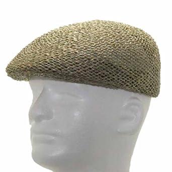 New ASCOT GOLF Vented Panama Straw Hat DRESS CAP at Amazon Men's