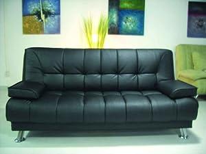Amazon Com One New Contemporary Caresoft Futon Sofa Bed