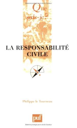 La responsabilite civile