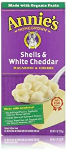 Annie's Homegrown, Shells & White Cheddar, 6 Oz
