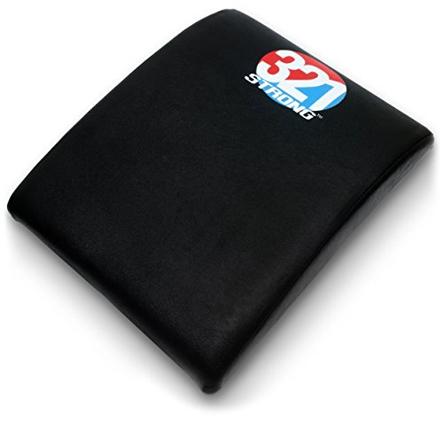 Abdominal and Core Trainer Mat For Lower Back Support , With Video Links and Bonus 4K eBook (Gym Equipment Pads compare prices)