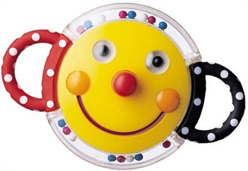 Sassy Smiley Face Rattle - 1