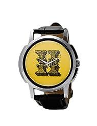 PosterGuy Alphabet H Typography Men's Wrist Watches