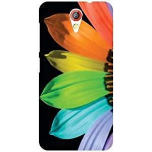 HTC Desire 620 Colored Leaves Matte Finish Phone Cover - Matte Finish Phone Cover