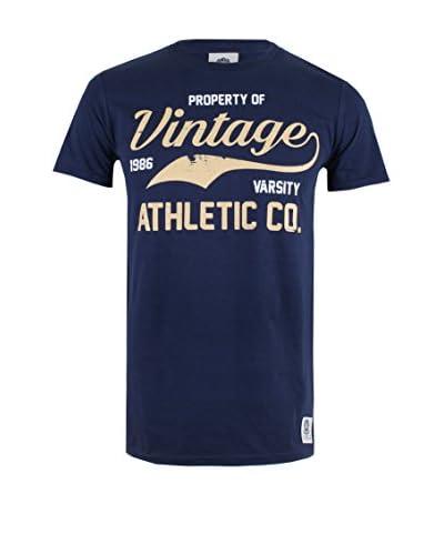 Varsity Team Players Camiseta Manga Corta Vintage Athletic