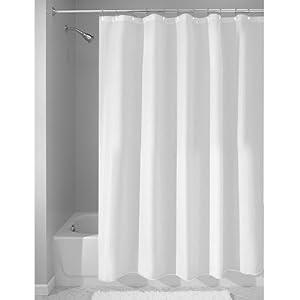 InterDesign 180 X 180 Cm Waterproof Shower Curtain Liner