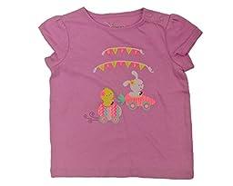 Jumping Beans Toddler Girls Easter Egg Race Shirt 12 months