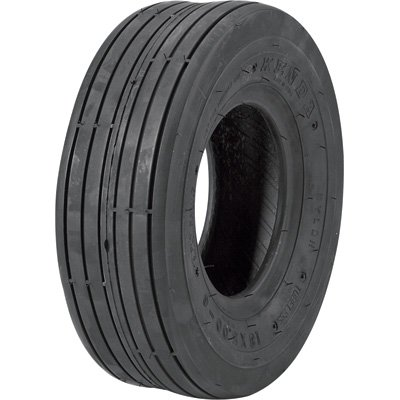 Tubeless Ribbed Tread Replacement Tire - 18 x 